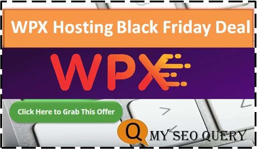 wpx hosting black friday Deal 2020