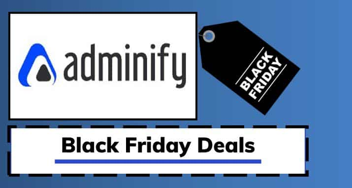 WP Adminify Black Friday Cyber Monday Deals 2021 (Avail 50% Discount)